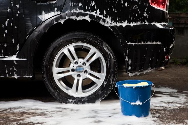 車の手洗い