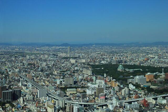 愛知県の町並み