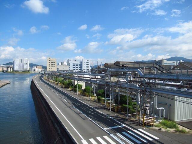 広島県の町並み