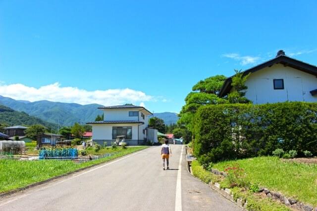 長野県の町並み